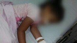 Família luta para vaga em UTI para garota de 2 anos, em Goiânia