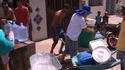 Falta de água é São Cristóvão gera transtornos a moradores
