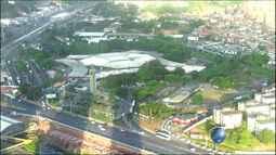 Veja imagens do trânsito na região da rodoviária de Salvador