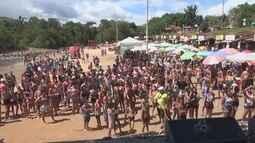 Carnachoeira atrai grande público em festa de encerramento em Presidente Figueiredo, no AM