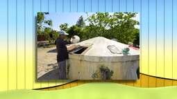 Chuvas enchem cisternas em algumas regiões da Bahia