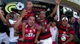 Flamengo enfrenta Portuguesa em Volta Redonda, RJ, pelo Campeonato Carioca