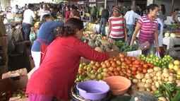 Preços altos de verduras e hortigranjeiros assustam clientes em Vitória da Conquista