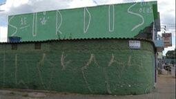 Pichação causa prejuízos a comerciantes de Poá