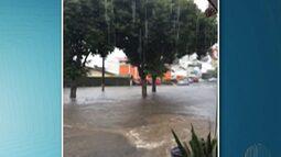 Chuva causa alagamentos em pontos de Mogi das Cruzes