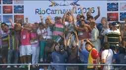 Mangueira é a campeã do carnaval no Rio