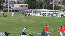 Em primeira partida no CIC, São Bento vence Novorizontino por 1 a 0