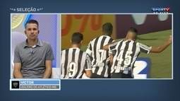 """Victor diz que Robinho se encaixa no perfil do Atlético-MG: """" Grande contratação"""""""