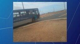 Assalto em ônibus do transporte coletivo de Boa Vista assusta passageiros