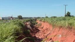 Operários voltam a trabalhar em cratera na região de Luís Eduardo Magalhães, no oeste