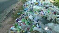 Acúmulo de lixo causa transtornos na Avenida Pierre Chalita