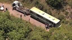 Ônibus se envolve em acidente na Região Leste de Belo Horizonte