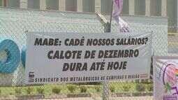 Funcionários da empresa Mabe estão sem receber salário e direitos trabalhistas