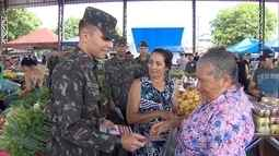 Militares participam de força-tarefa contra o mosquito Aedes aegypti