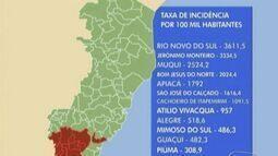 16 cidades do Espírito Santo sofrem epidemia de dengue