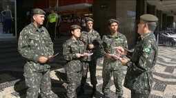 Militares e presidente Dilma participam do Dia D contra o mosquito aedes aegypti no Rio
