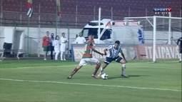Os gols de Portuguesa 1 x 1 Bragantino pela Série A 2 do Campeonato Paulista