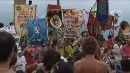 Blocos protestam contra violência da Guarda Municipal e da PM no carnaval do Rio