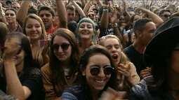 Lollapalooza reúne 160 mil pessoas em dois dias de festival no autódromo de Interlagos