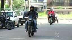 Número de motos circulando por Três Rios, RJ, aumenta
