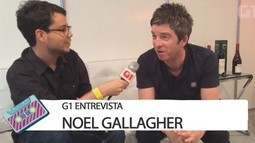 G1 entrevista Noel Gallagher - Parte 1