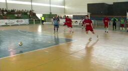 Angra dos Reis e Barra Mansa empatam pela Copa Rio Sul de Futsal