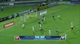 Confira os gols dos jogos de ida das quartas de final da Copa do Nordeste