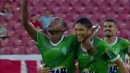 Os gols de Náutico 1 x 1 Vitória da Conquista pela 1ª fase da Copa do Brasil
