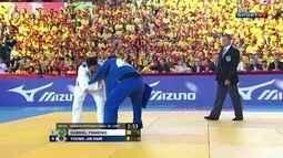 Desafio de Judô Brasil x Coria: Gabriel Pinheiro perde para Young-Jin Ham