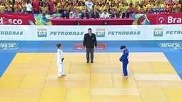 Desafio de Judô Brasil x Coria: Nathália Brígida vence Yujeong Kang