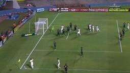 Veja os gols do empate de 1 a 1 entre Vila Nova e Goiás