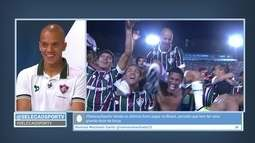 """Marcos Júnior cita Fred """"estressadinho"""" e diz que mudança com Levir foi na conversa"""