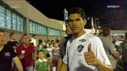 Confira os bastidores da vitória do Fluminense na final da Primeira Liga