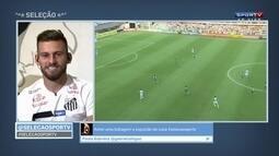 Lucas Lima se defende de provocações feitas ao Palmeiras