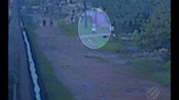 Imagens registram suspeito de assassinar jovem em motel de Belém