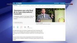 Presidente da Conmebol diz que Libertadores pode durar um ano