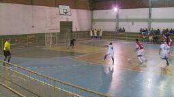 Veja como foi a rodada de quinta-feira da Taça EPTV de Futsal