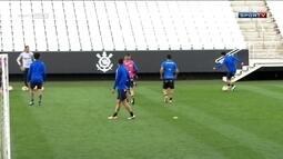 Tite atende pedido de jogadores do Corinthians e o elenco treina na Arena Corinthians