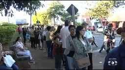 Após falta de doses, campanha de vacinação recomeça no Cais do Bairro Goiá, em Goiânia