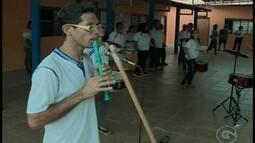 Alunos da APAE Petrolina estão empolgados para participar de um festival em Caruaru
