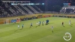 Bragantino vence o Avaí no jogo de ida da Copa do Brasil