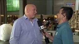 Presidente do Nacional analisa chances do time uruguaio contra o Corinthians