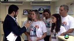 Amigos e familiares lançam campanha para salvar vida de garota de 11 anos