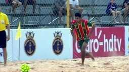 Os gols de Sampaio Corrêa 5 x 1 Espírito Santo pela Copa do Brasil de Futebol de Areia
