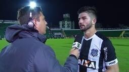 """Guilherme Queiroz lamenta empate em casa: """"Faltou o gol"""""""
