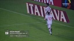 Édson Mauro narra gol da classificação do Vasco na Copa do Brasil