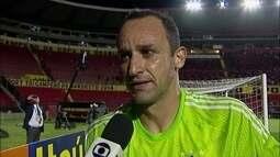"""Magrão diz que Sport tem que ter mais tranquilidade em campo: """"Erramos muitos passes"""""""