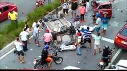 Acidente na BR-230 pode ter sido provocado por um terceiro veículo