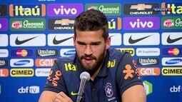 Antes do início da Copa América, Alisson diz que Dunga está preparado para a pressão