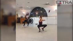 Bailarinas impressionam com coreografia que mistura passos clássicos e hip-hop